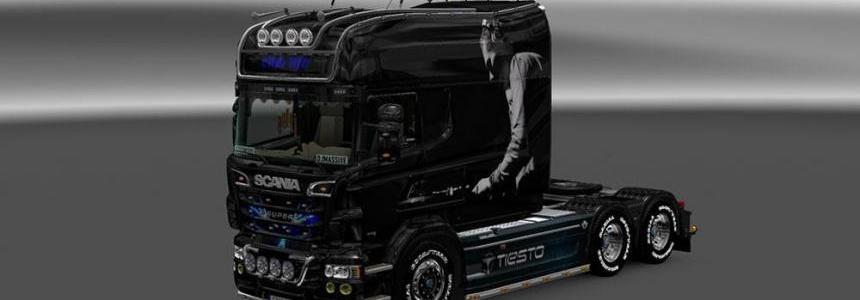 Scania RS EXC Longline (RJL) Tiesto Skin