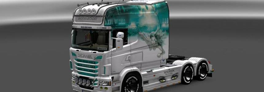 Scania RS EXC Longline Sensation Skin 1.18