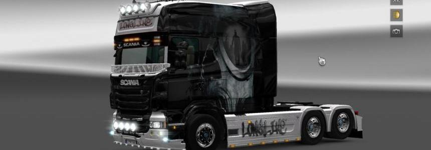 Scania RS EXC Longline Skin 1.18