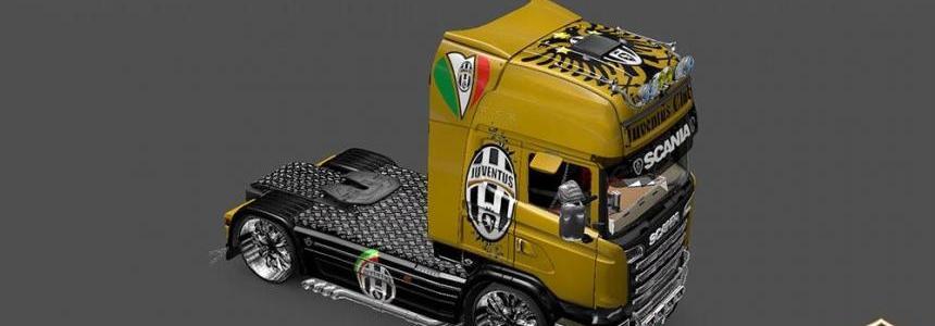 Scania Streamline Juventus Skin v3.0