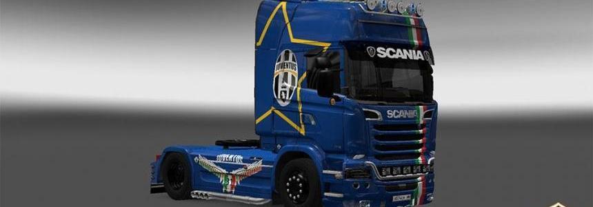 Scania Streamline Juventus Skin v6.0