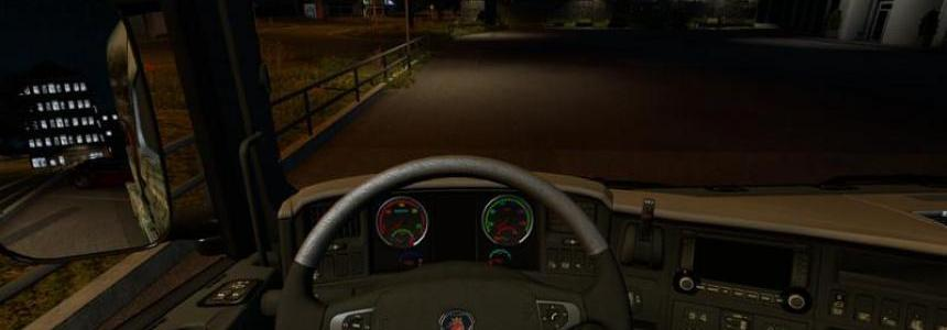 Scania Streamline Rainbow Dashboard v1.0