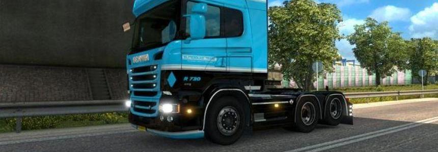 Scania V8 sound by Kriechbaum fixed for Scania RJL