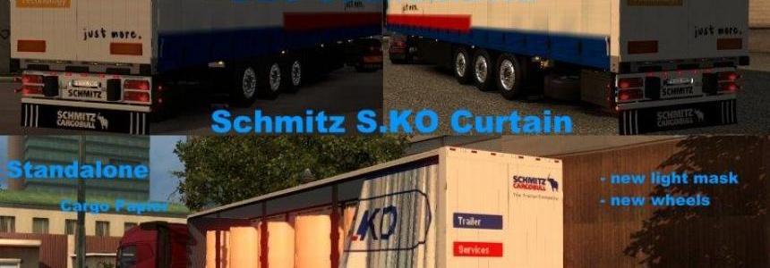 Schmitz S.KO Planenauflieger v2.0