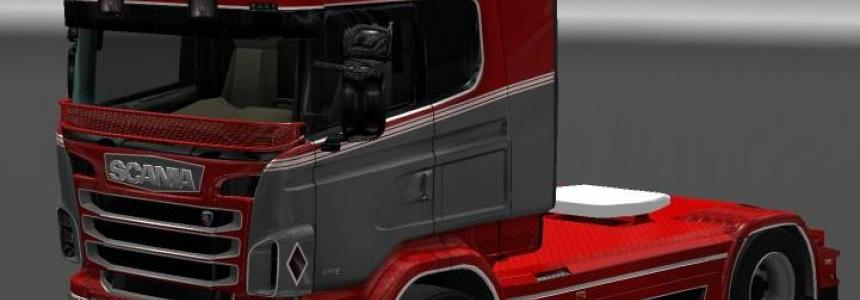Skin Pack for Scania RJL (16 Skins)