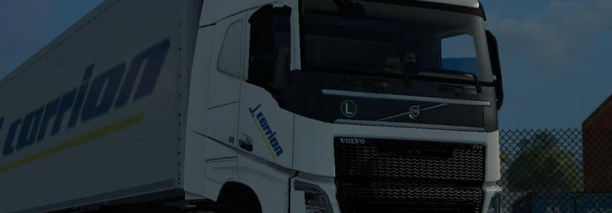 Skin Volvo FH16 JCarrion 1.18.x