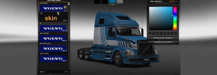 SkinPack Volvo VNL670 v2