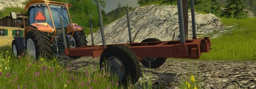 Small wooden semitrailer v1.0