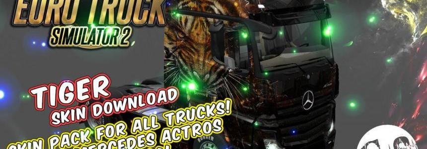 Tiger Skin Pack for All Trucks