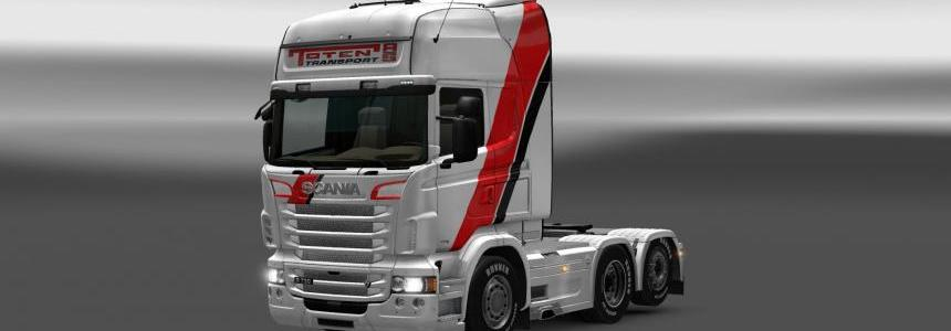 Toten Transport skin for Scania R/Streamline v0.90
