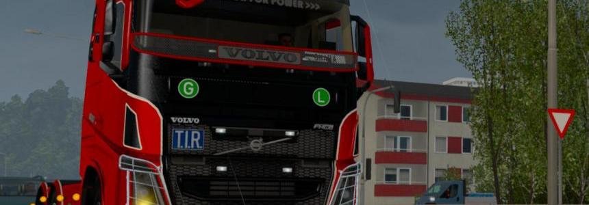 Volvo FH 2013 [ohaha] v18.6s Tested on 1.18x