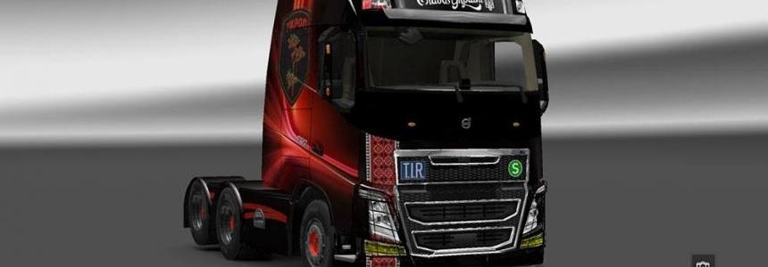 Volvo FH16 2013 Ohaha Ukrop Red Skin