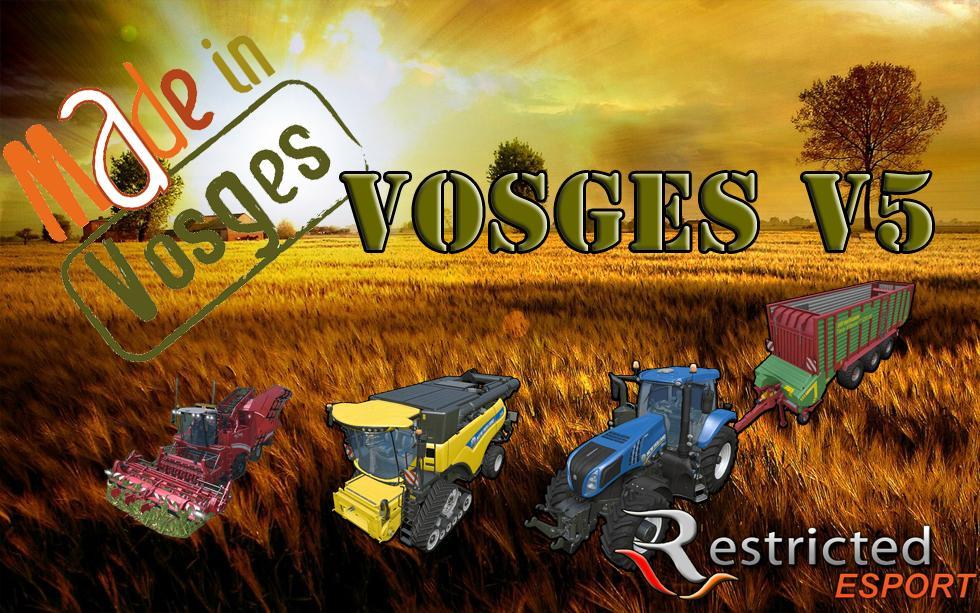 Vosges Map v5.0 for FS 15