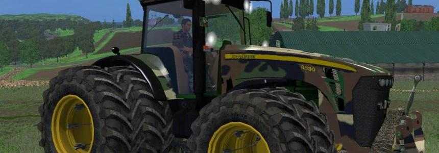 Camoflage and Green JohnDeere 8530 v1 By Eagle355th