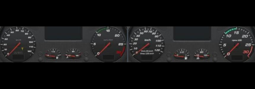 Iveco HD Gauges and Interior