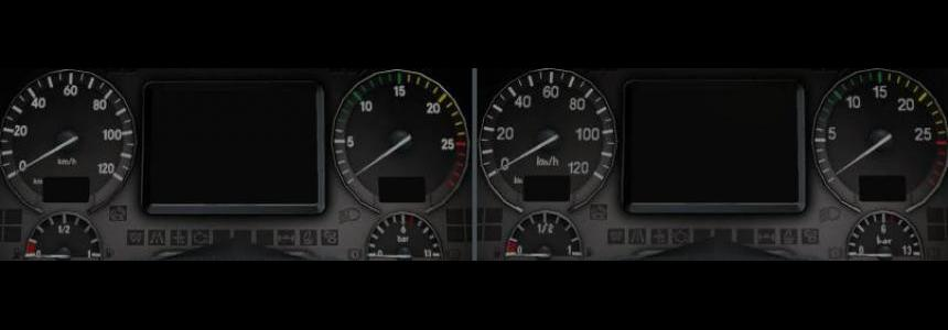 Mercedes HD Gauges and Interior