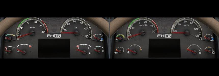 Volvo HD Gauges and Interior