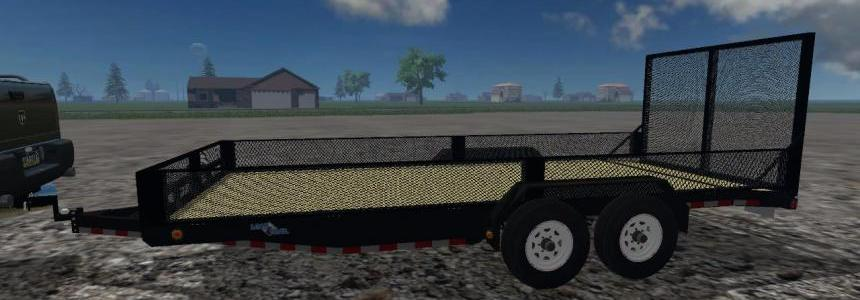 Load Trail landscape trailer
