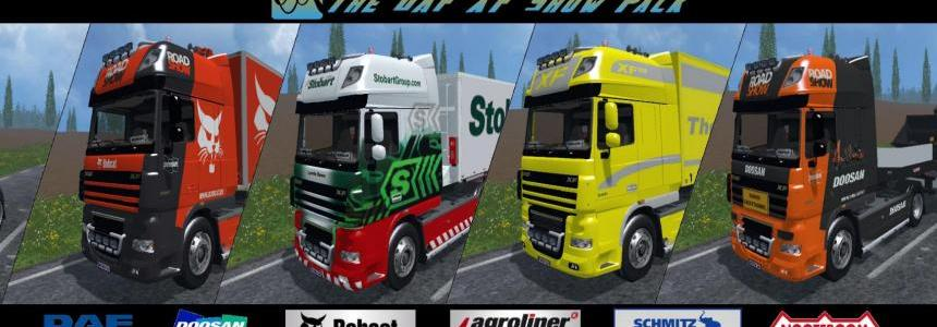 The DAF XF Show Pack V1.0
