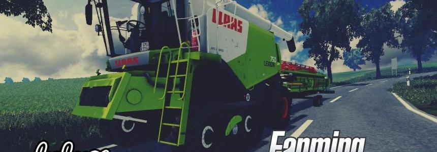 CLAAS Lexion 750 v1.0