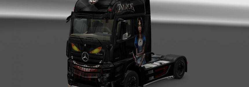 Alice: Madness Returns skin for Actros 2014
