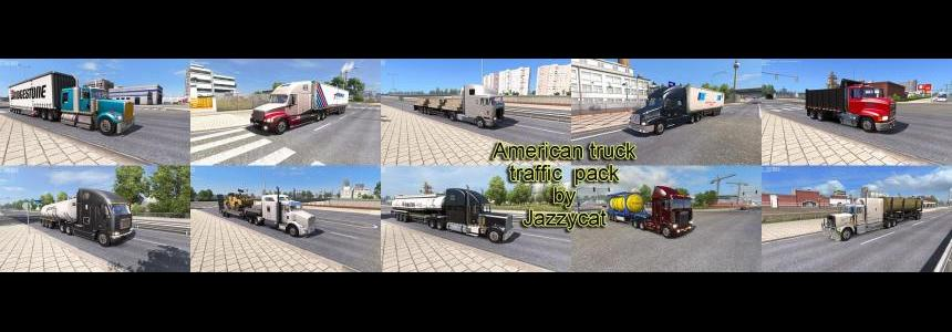 American Truck Traffic Pack by Jazzycat  v1.0.1