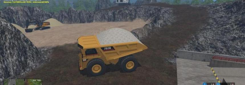 CAT 797B Dumper v0.1 Beta