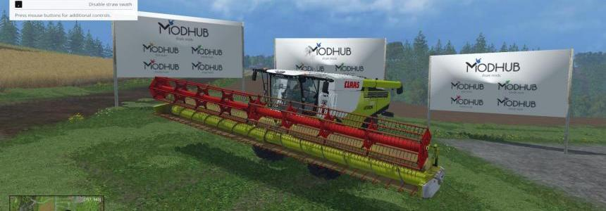 Claas Lexion 780 Set v1.0