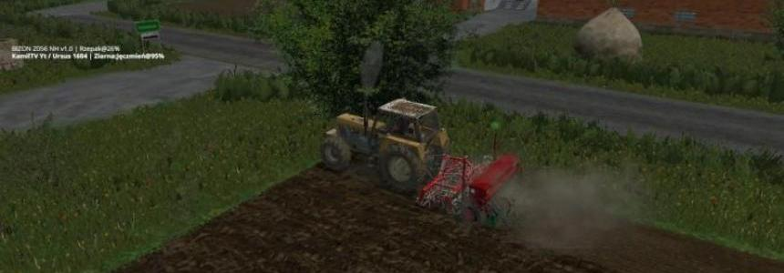 Cultivator seed drill v1.0