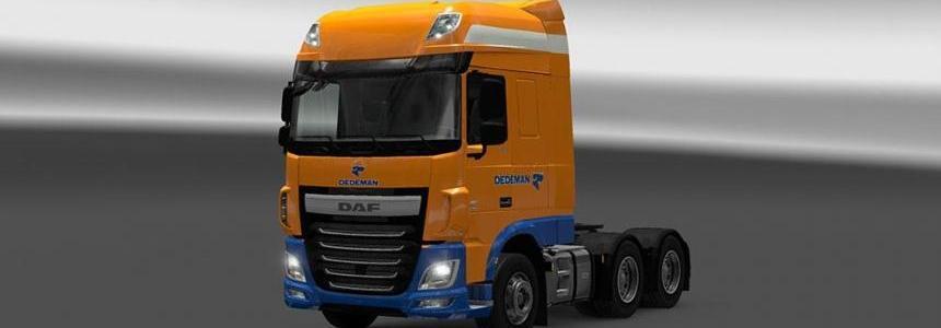 DAF XF Euro 6 Dedeman Skin