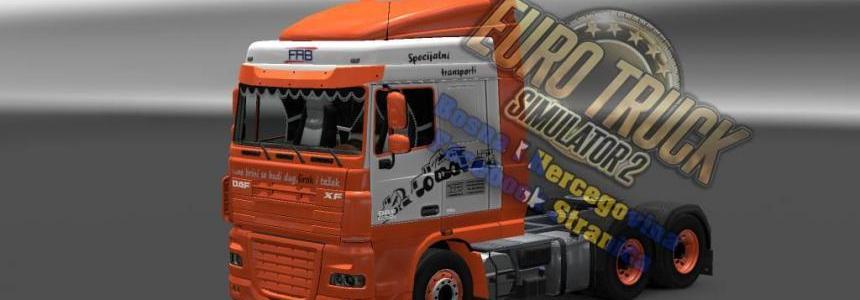 DAF XF FAB Truck Skin