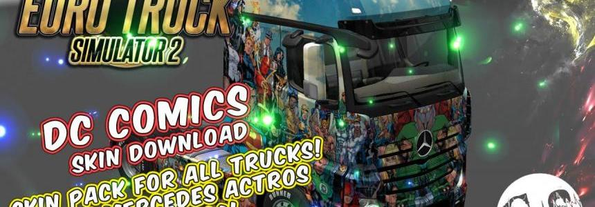 DC Comics Skin Pack for All Trucks