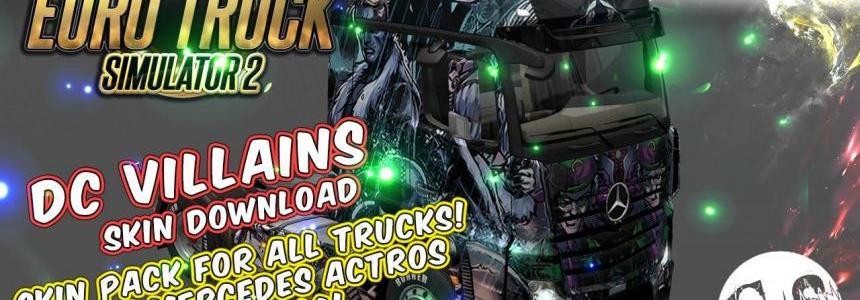 DC VIllains Skin Pack for All Trucks