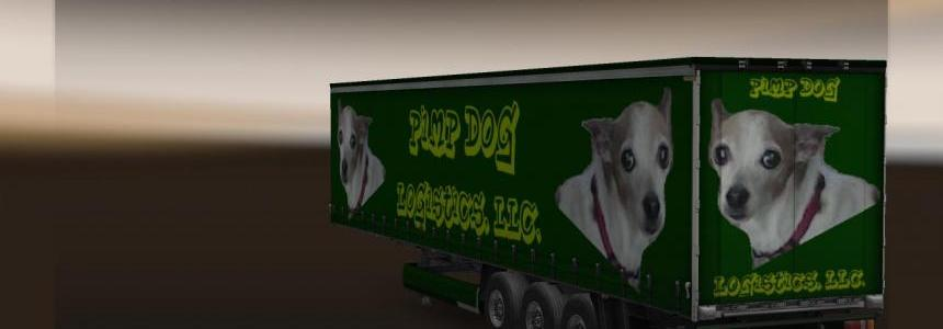 EAM Pimp Dog Logistics Trailer