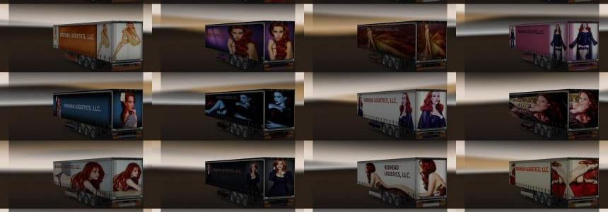 EAM Redhead Logistics Trailer Set 1.0