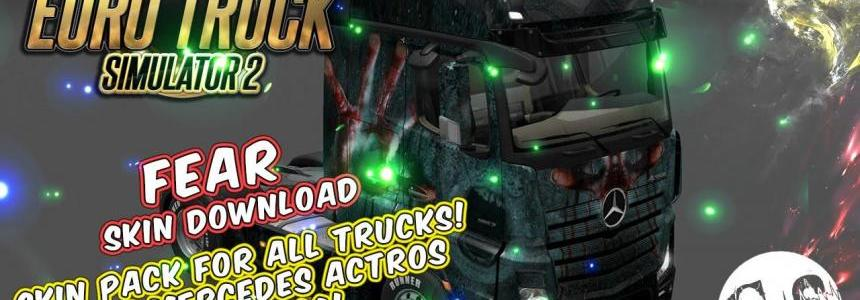 Fear Skin Pack for All Trucks