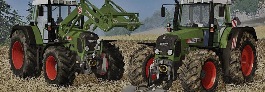 Fendt 818-820 Vario TMS Full Pack