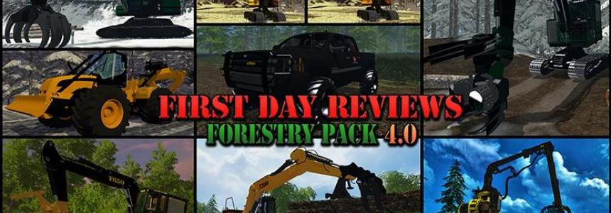 First Day Reviews - Forestry Pack v4.0
