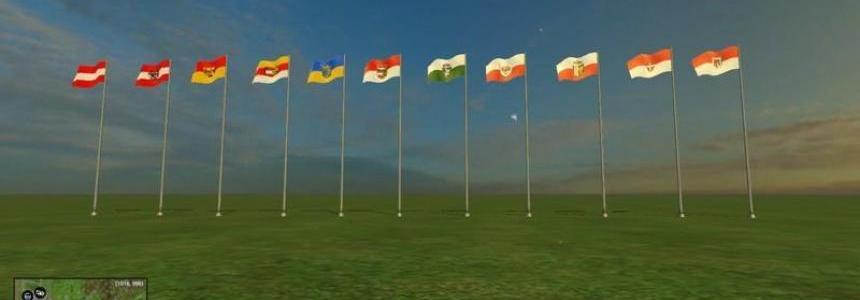 Flag of Austria states v1.05