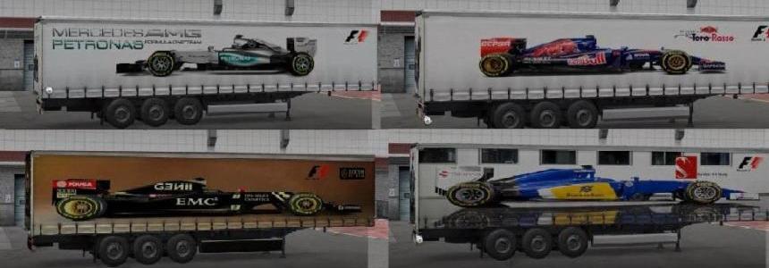 Formula 1 Trailers Pack