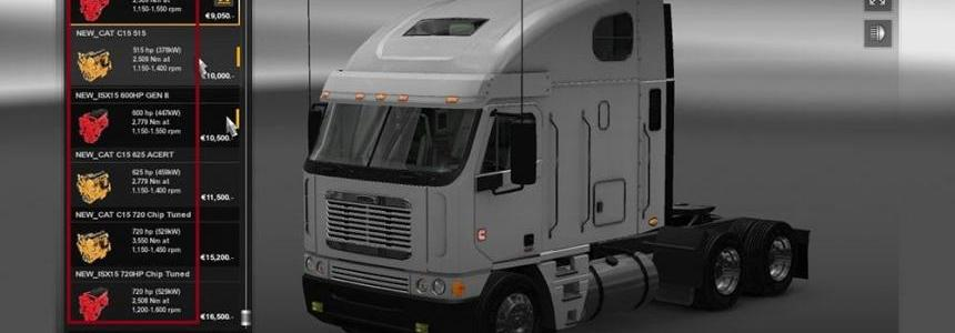 Freightliner Argosy Engine + Sound Pack v2.0