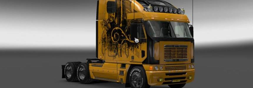 Freightliner Argosy Painted Trial Skin