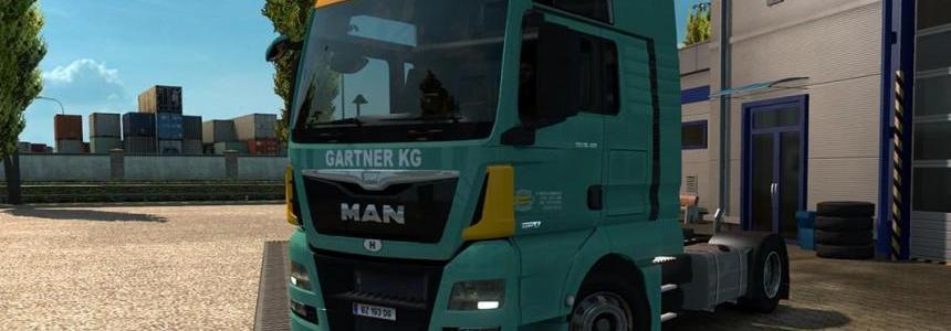 Gartner KG MAN TGX Euro 6 skin v1