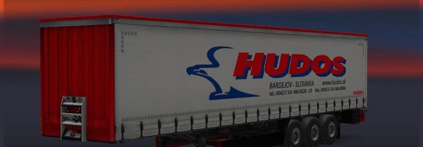 HUDOS s.r.o. company skin for DrakkarTrans trailers