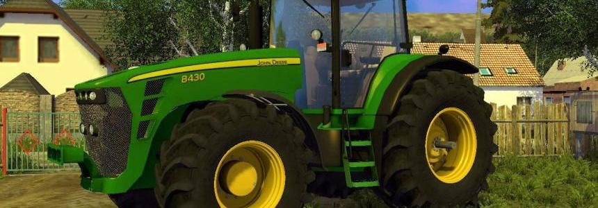 John Deere 8430 Weight V3.0