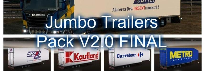 Jumbo Trailers V2.0 FINAL for 1.19 and DLC Scandinavia