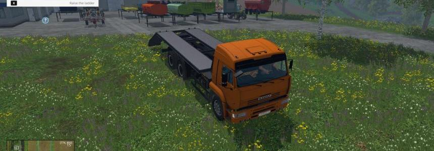 Kamaz 45143 and body pack v1.0