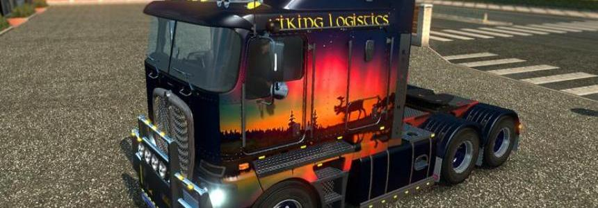 Kenworth K200 Viking Logistics v1.0