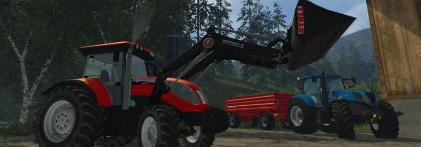 Landini 7230 and Mc Cormick Gmax 165 v1.0