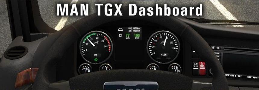 MAN TGX Dashboard
